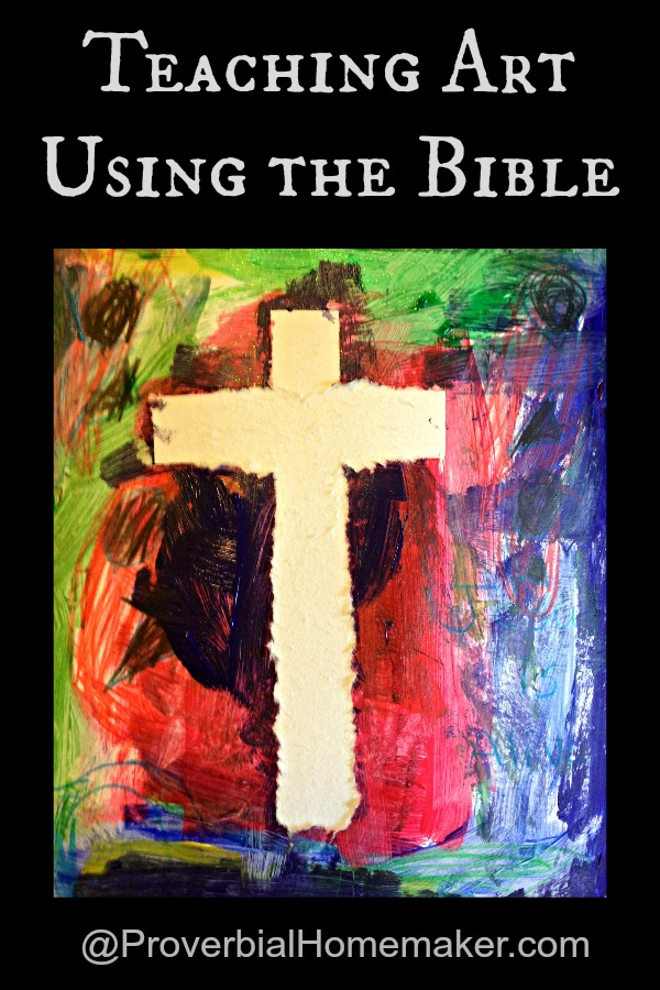Teaching Art Using the Bible with great tips and ideas