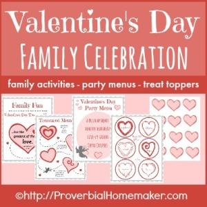 Valentine's Day Family Celebration SQ