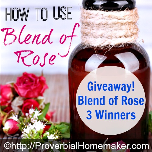 Giveaway for Blend of Rose from Native American Nutritionals