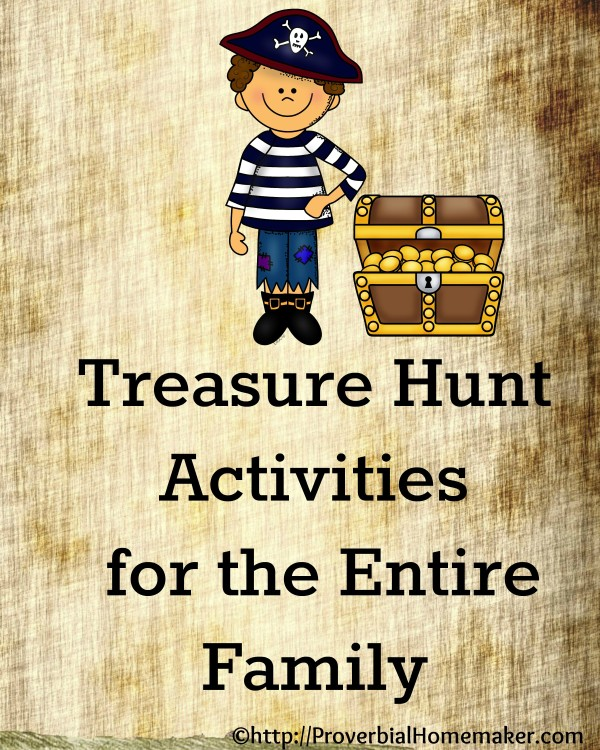 Have a treasure hunt activity that strengthens reading skills!