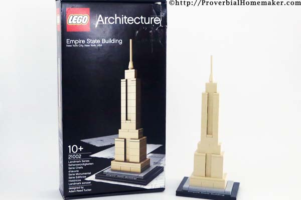 Lego State Empire Building 1
