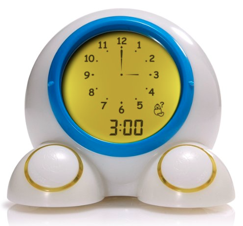 Teach me time alarm clock turns color at wake up time