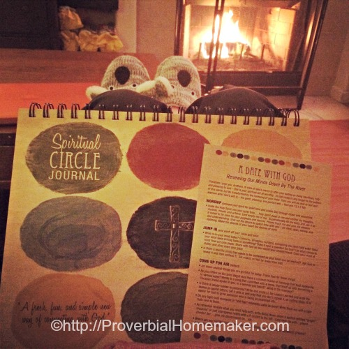 Morning Quiet Time for Busy Moms Spiritual Circle Journal