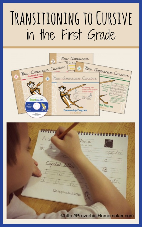Transitioning to Cursive in First Grade