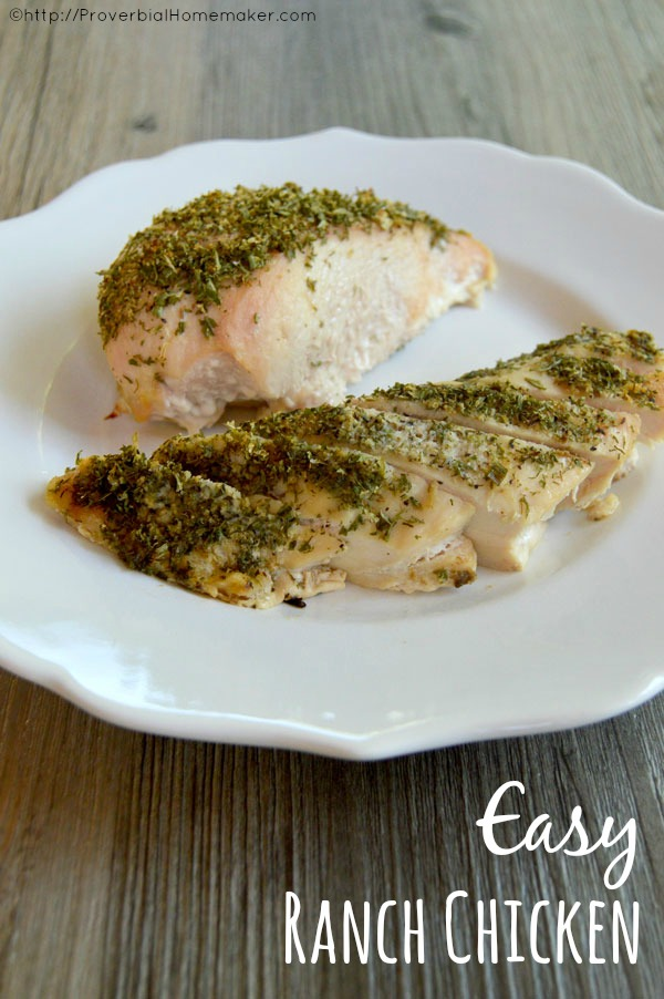 Easy ranch chicken proverbial homemaker for Easy ranch