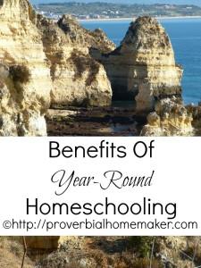 benefits of year-round homeschooling