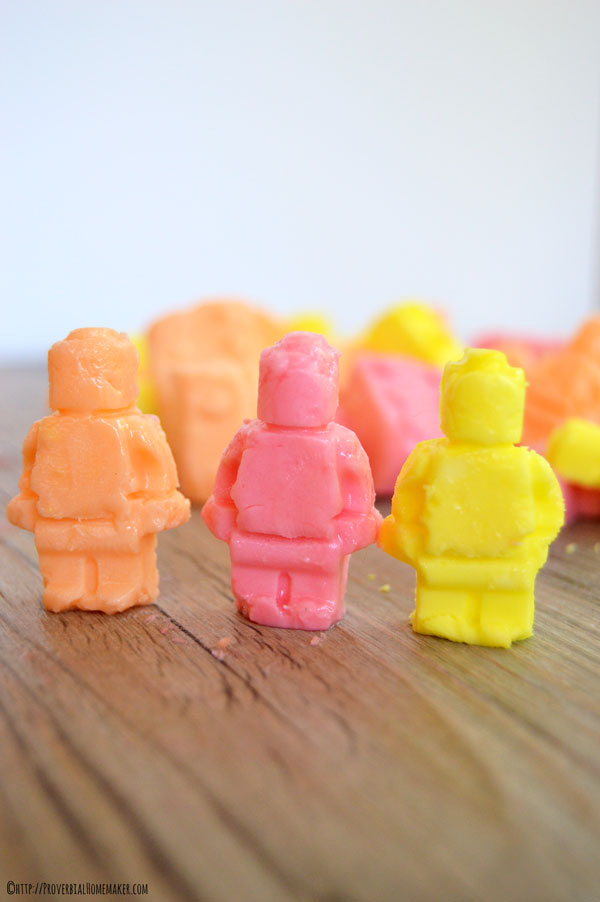 Have some Lego fun with these super simple and kid friendly Lego Smarties!