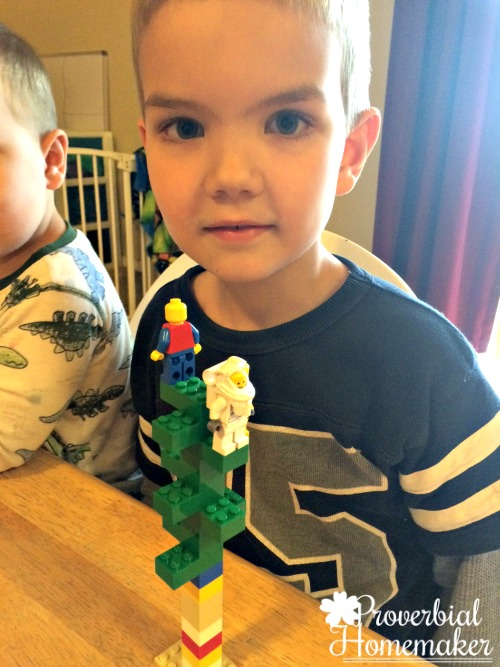 Build through the Bible with the Matthew Lego Challenge