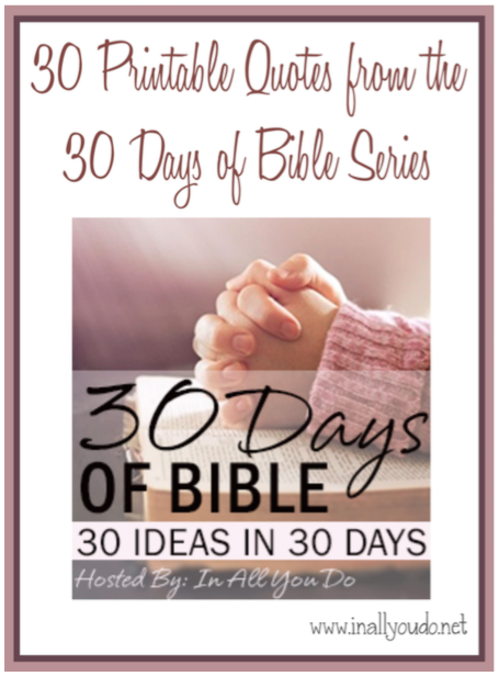 30 Days of Bible