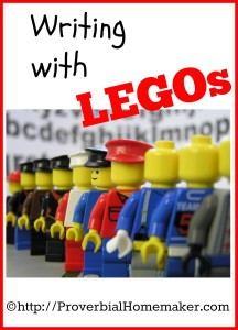 Writing Stories with Legos