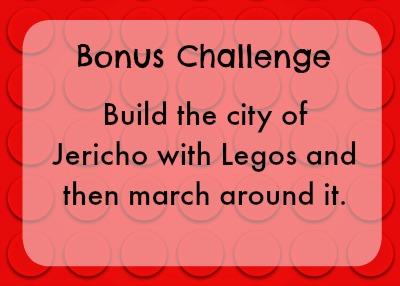 Bonus lego challenge - walls of Jericho