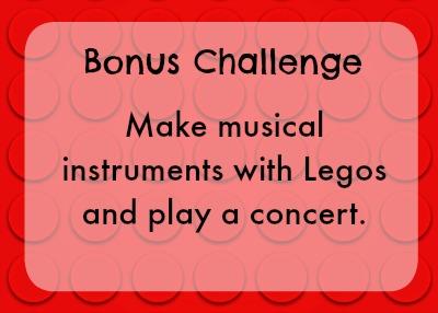 Bonus lego challenge - instruments