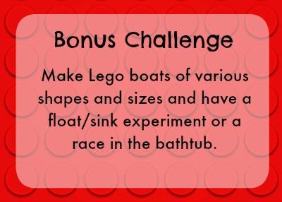 Bonus lego challenge - boats