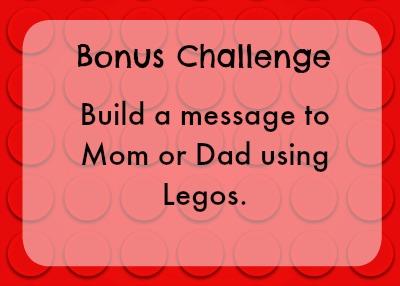 Bonus lego challenge - message