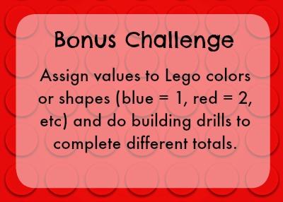 Bonus lego challenge - building drills