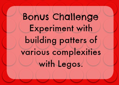 Bonus lego challenge - build patterns