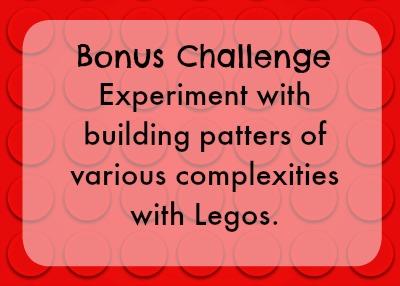 Bonus lego challenge - build patterns