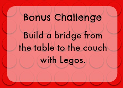 Bonus lego challenge - bridge