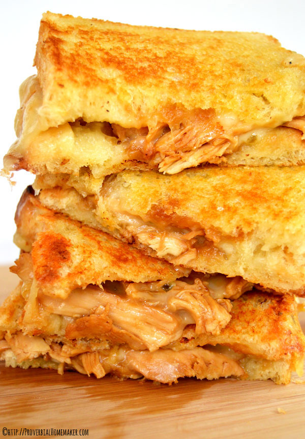 Try this twist on a classic grilled cheese sandwich where spicy meets Asian in this Teriyaki Chicken Grilled Cheese!