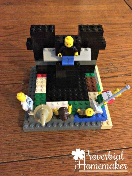 Jesus Dies on the Cross - Matthew Lego Challenge Day 19