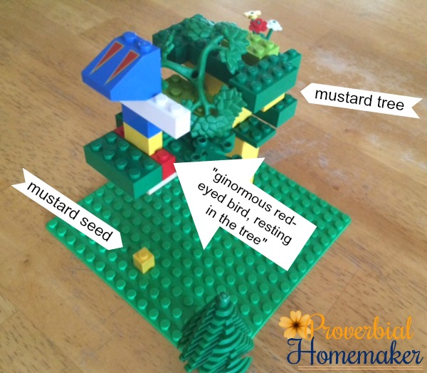 Build through the Bible with the Matthew Lego Challenge - Day 12: The Mustard Seed