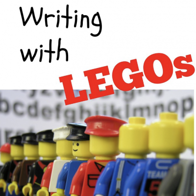 Writing Stories with Legos - tips and ideas for writing using Legos!
