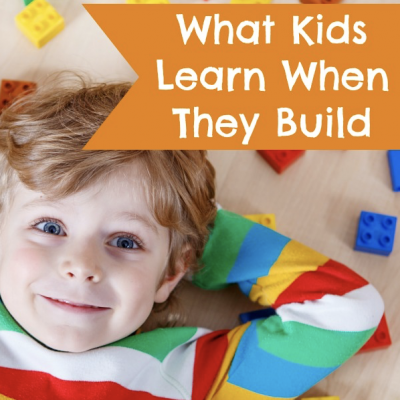 What Kids Learn When They Build With Legos - So many great teaching opportunities with Legos and other building toys!