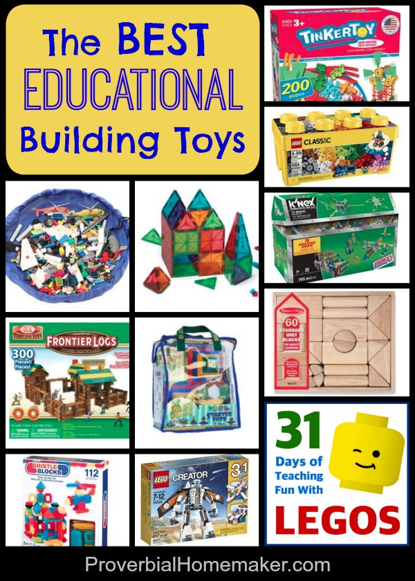 The Best Educational Building Toys