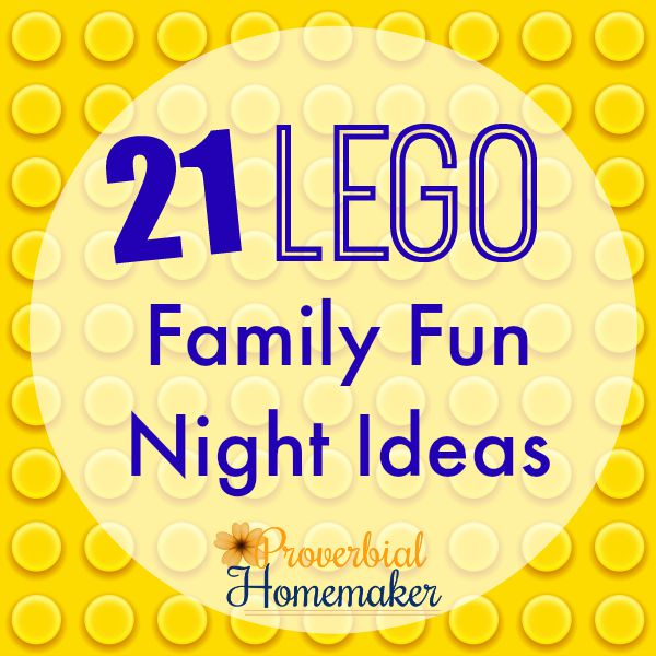 21 Lego Family Fun Night Ideas