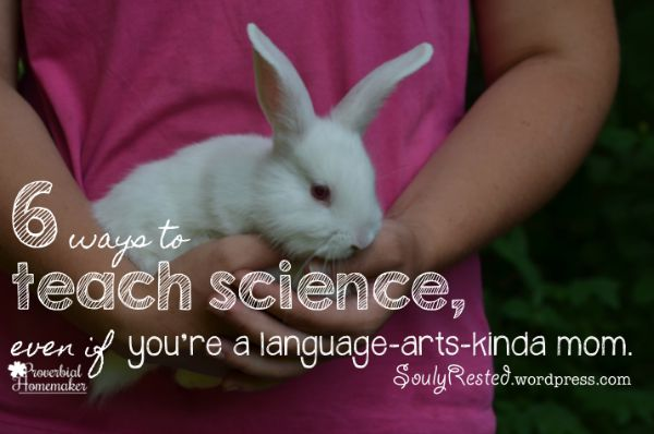 Teaching Science When You're a Language-Arts-Kinda Girl - Tips for a living books kind of science program