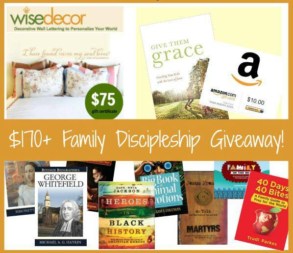 Family Discipleship Facebook Giveaway