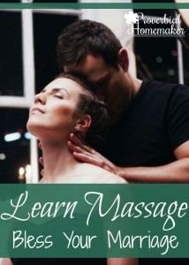 Learn Massage to Bless Your Marriage