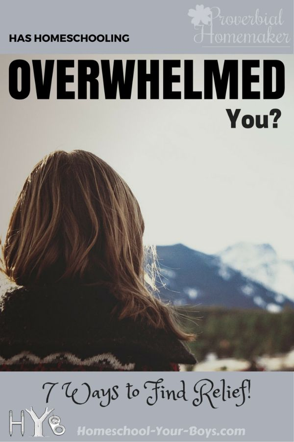 Has Homeschooling Overwhelmed You? 7 Ways to Find Relief! (Curriculum GIVEAWAY!)