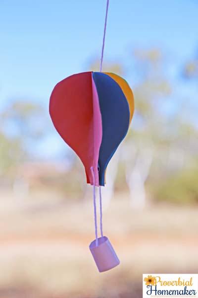 Hot Air Balloon 10a