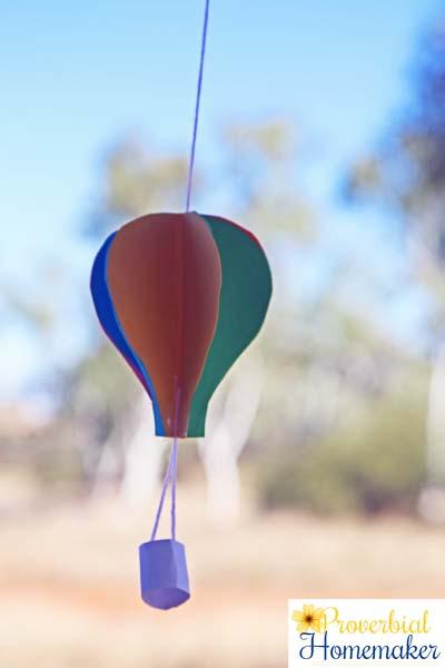 Hot Air Balloon 12a