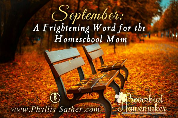 sept homeschool mom