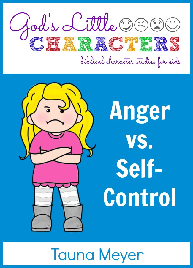 Anger vs  Self-Control Family Bible Study / Unit Study - Proverbial