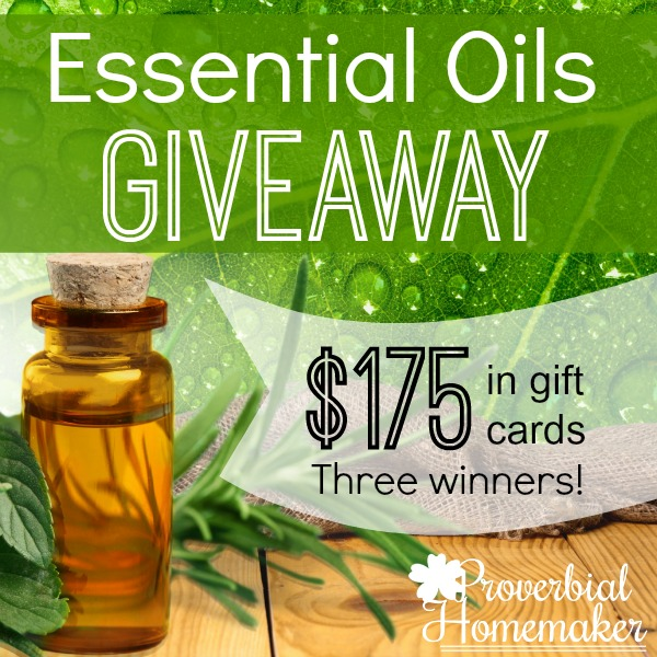 Essential Oils Giveaway - 3 Winners and $175 at Native American Nutritionals