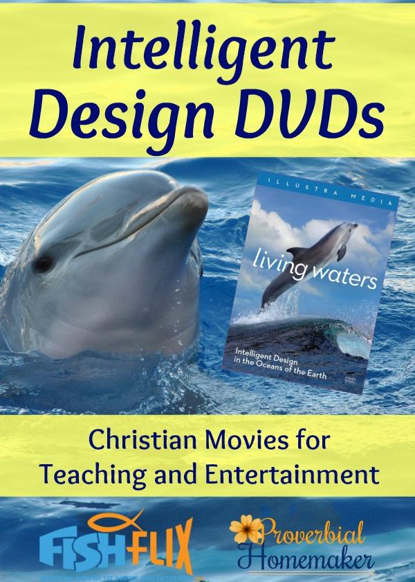 Intelligent Design DVD Christian Movies Homeschool FishFlix.com