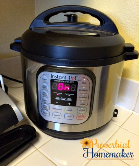 My Solution for Mealtime Madness Instant Pot Review and Menu Plan