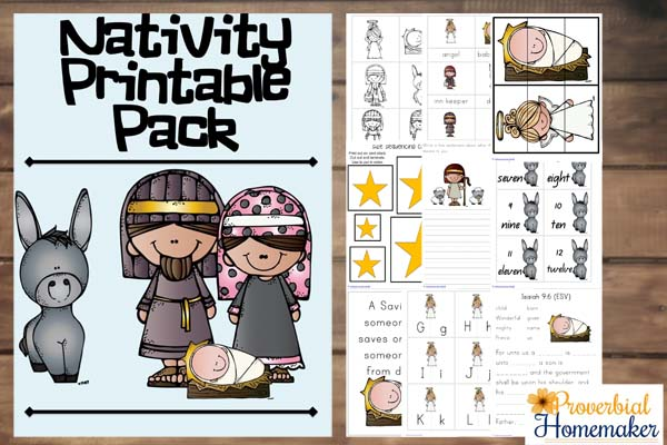 Nativity Pack