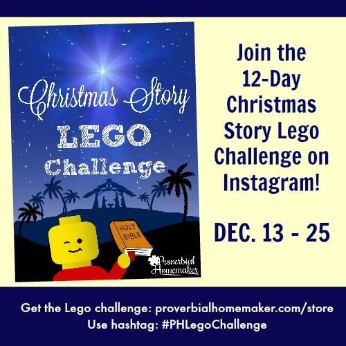 12-Day Christmas Lego Challenge on Instagram
