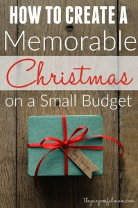 Holiday Homemaker's Challenge