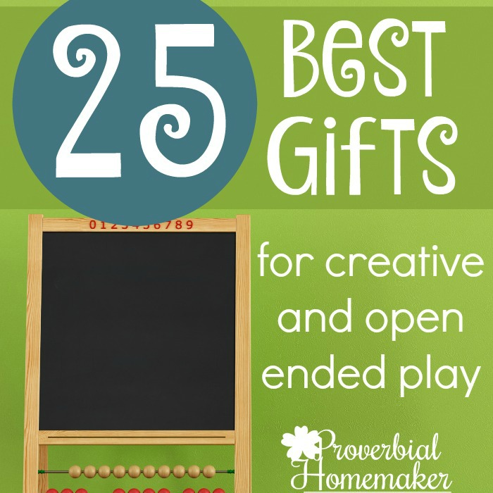 25 Best Gifts for Creative and Open Ended Play Creative Gifts that Spark the Imagination