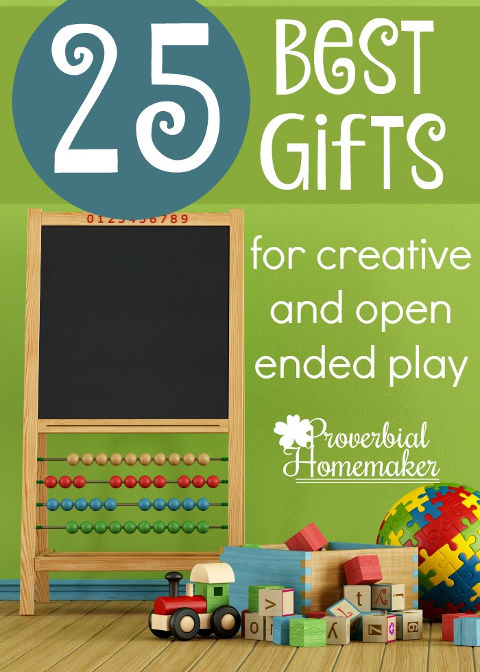 Creative Gifts that Spark the Imagination