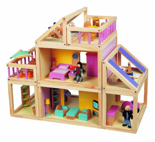 Maxim Designed By You Wooden Dollhouse for open ended play