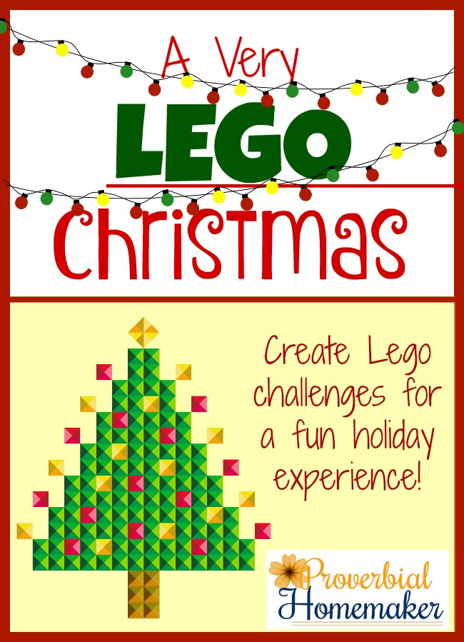 Create Lego Christmas challenges for holiday fun and learning