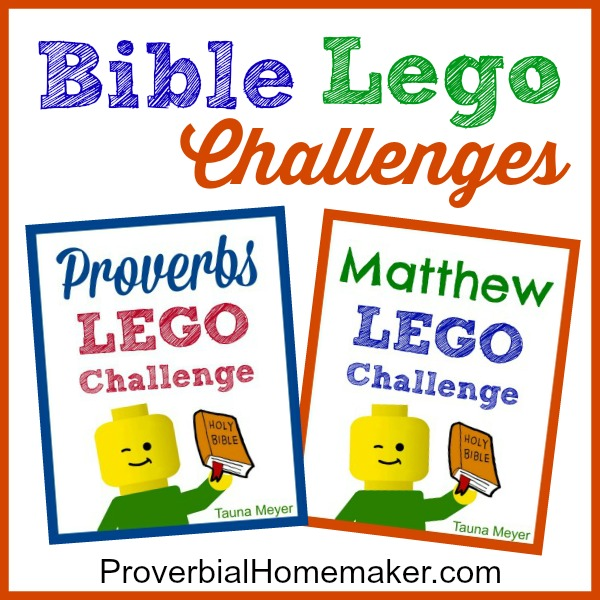 Lego Challenges At Proverbial Homemaker