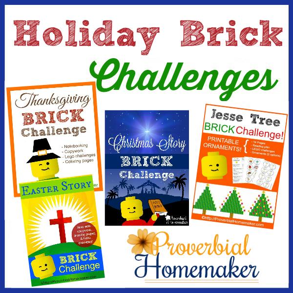 Holiday Brick Challenges 600 SQ