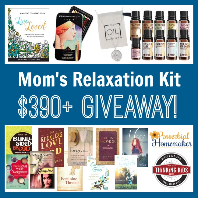 Mom's Relaxation Kit Christmas Giveaway ($390+ in Prizes!)